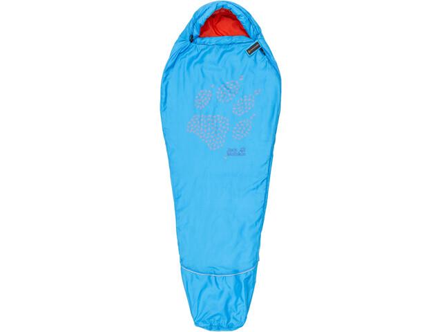7e1dae47852 Jack Wolfskin Grow Up Sleeping Bag Children blue at Bikester.co.uk